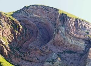 pieghe al Monte Brandòl