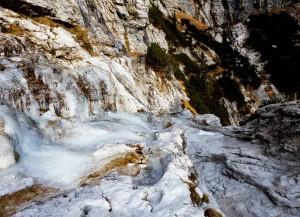 9. colatoio ghiacciato: passaggio