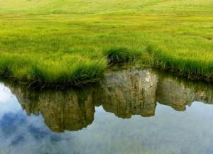 riflessi sul Lago delle Baste
