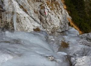 10. colatoio ghiacciato: passaggio