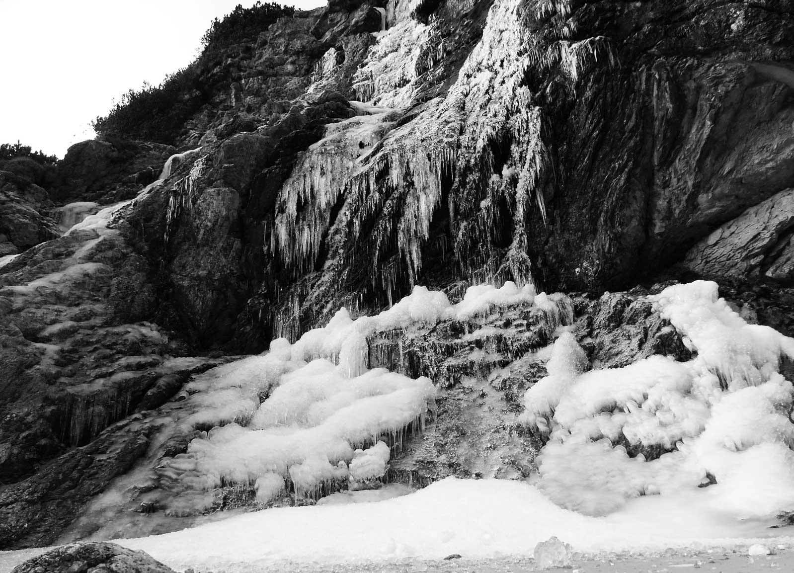 sentieri ghiacciati